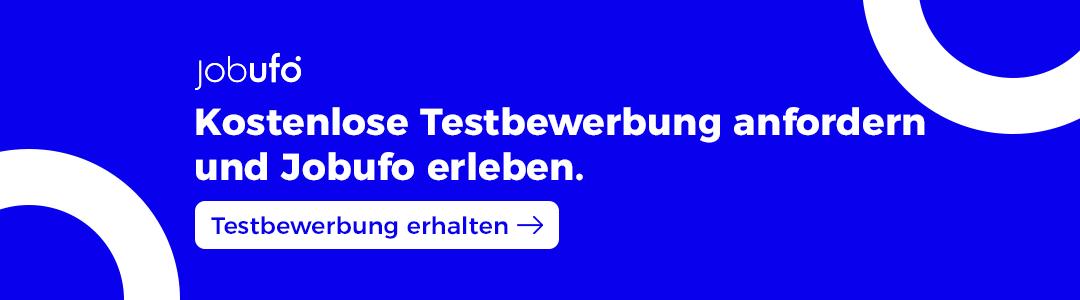 2021-02-02 Inline Banner Blog_Kostenlose Testbewerbung anfordern und Jobufo erleben_Testbew erhalten