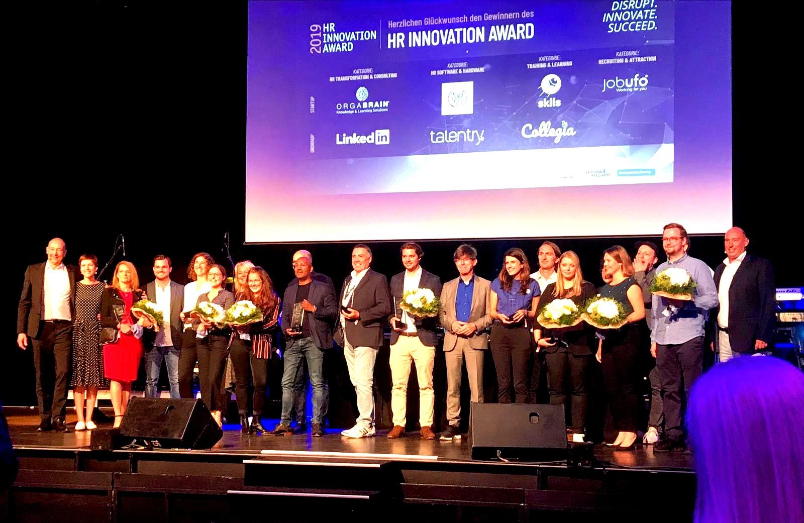 """Die Gewinner des """"HR Innovation Award""""s 2019"""