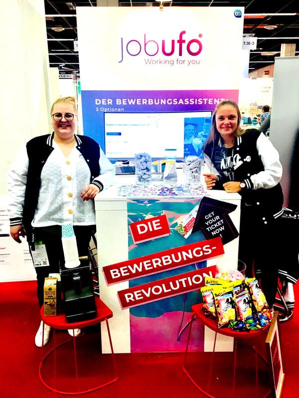 Der Messestand von Jobufo auf der Zukunft Personal Europe 2019